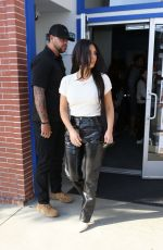 KIM AKRDASHIAN and Scott Disick Out in West Hollywood 10/29/2019
