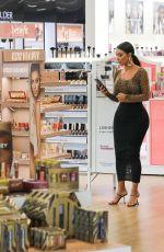 KIM KARDASHIAN at Ulta Beauty Cosmetics Store in Calabasas 10/21/2019