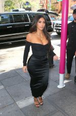 KIM KARDASHIAN Out and About in New York 10/24/2019