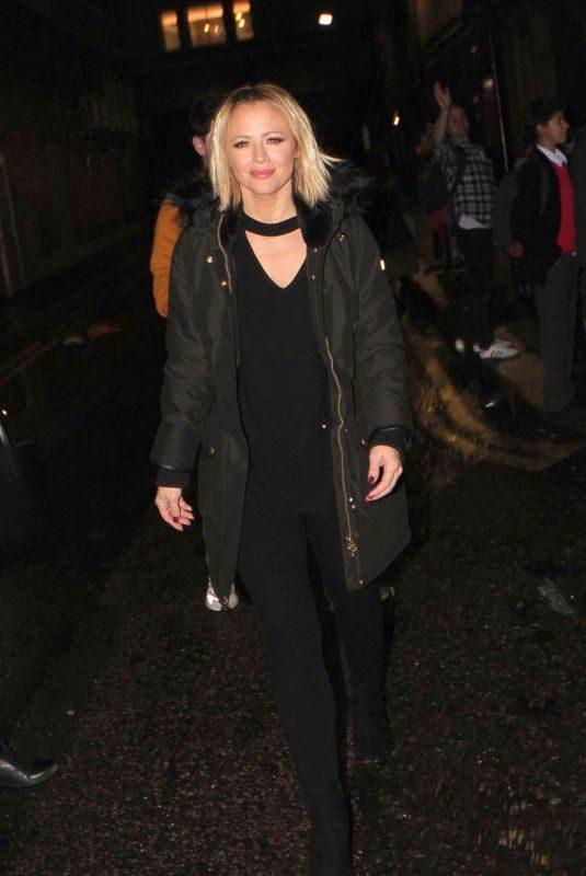 KIMBERLEY WALSH Leaves Big the Musical in London 10/14/2019
