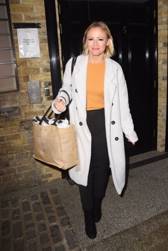 KIMBERLEY WALSH Out in London 10/21/2019