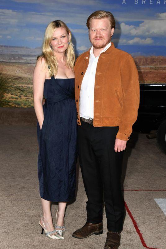 KIRSTEN DUNST at El Camino: A Breaking Bad Movie Premiere in Los Angeles 10/07/2019