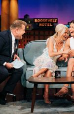 KRISTIN CHENOWETH at Late Late Show with James Corden 10/03/2019