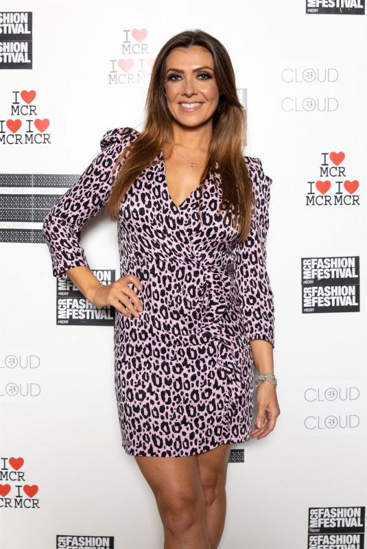 KYM MARSH at Manchester Fashion Festival 10/12/2019