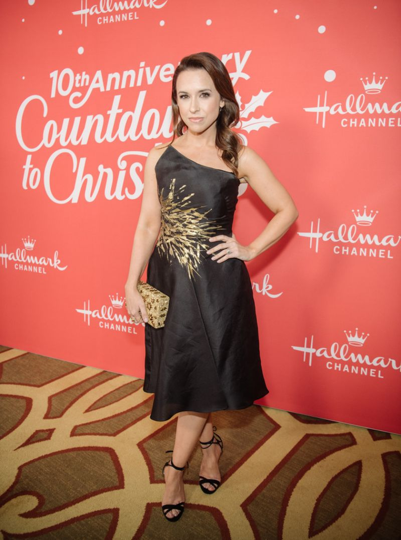 LACEY CHABERT at A Christmas Love Story