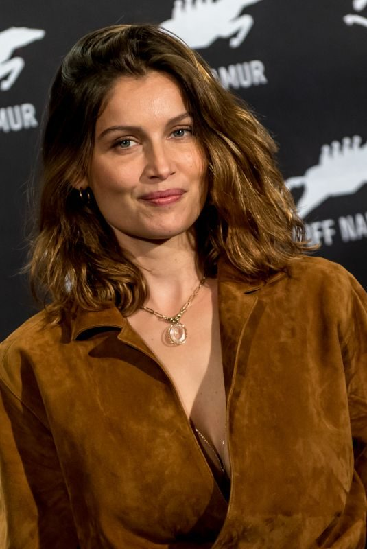 LAETITIA CASTA at Photocall and Press Conference at International Film Festival of Namur in Belgium 10/01/2019