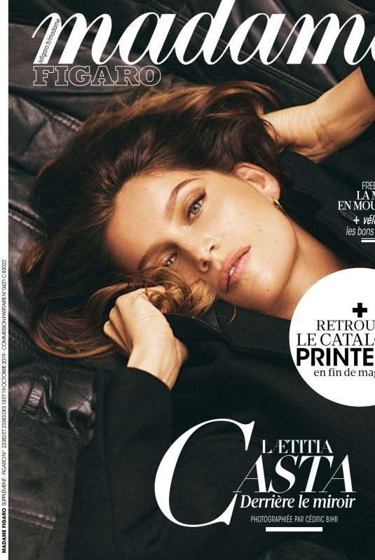 LAETITIA CASTA in Madame Figaro Magazine, October 2019