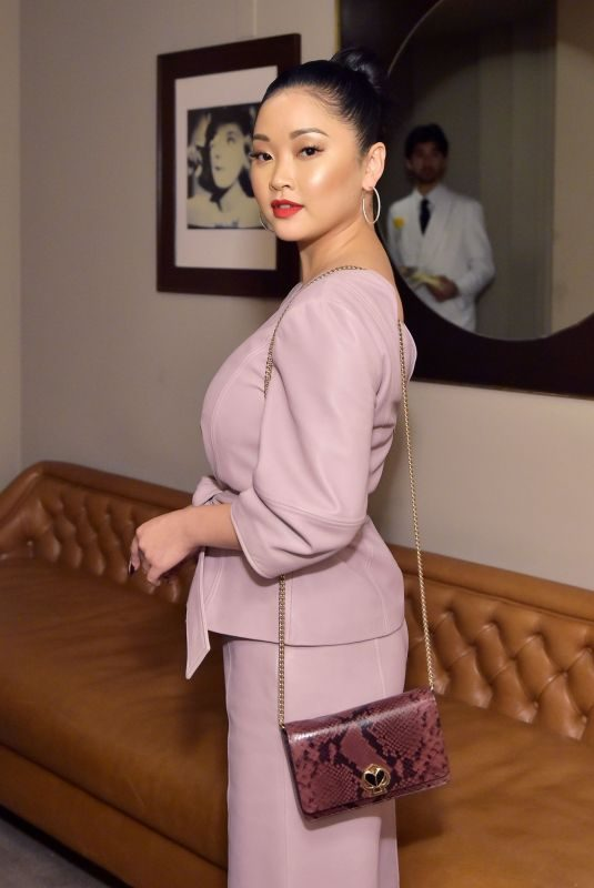 LANA CONDOR at Instyle & Kate Spade New York Dinner in West Hollywood 10/22/2019