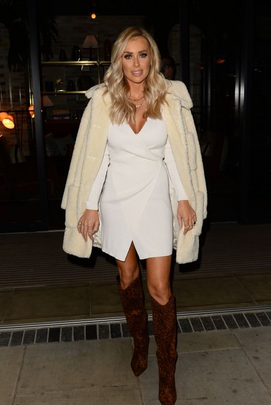 LAURA ANDERSON at Stacey Solomon x Primark Collaboration Party in London 10/10/2019