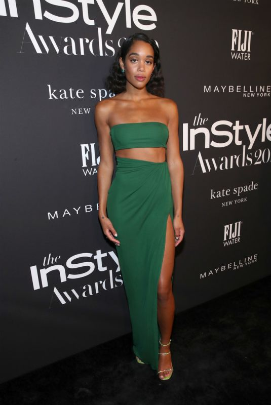 LAURA HARRIER at 2019 Instyle Awards in Los Angeles 10/21/2019