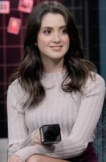 LAURA MARANO at AOL Build Series in New York 10/15/2019
