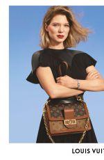 LEA SEYDOUX for Louis Cuitton 2019 Campaign