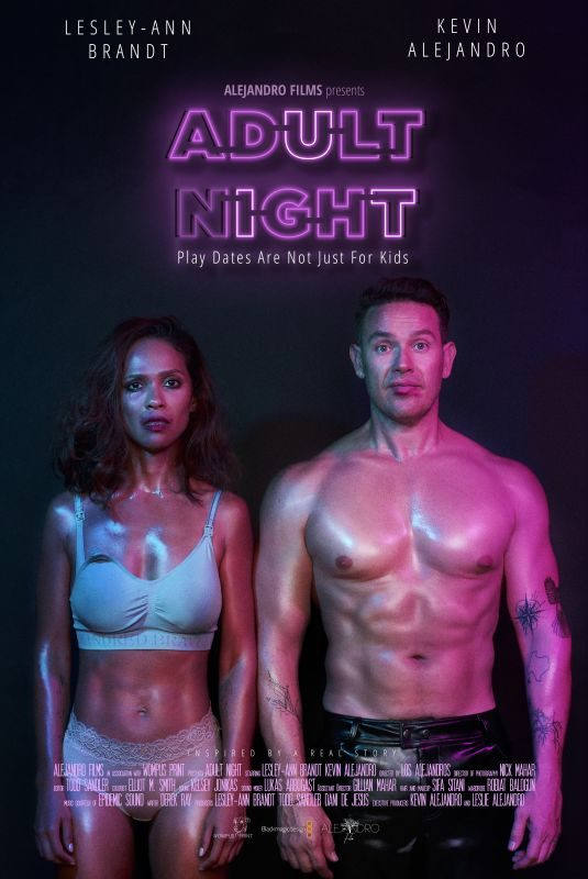 LESLEY-ANN BRANDT – Adult Night Poster
