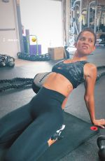 LESLEY-ANN BRANDT Working at a Gym - Instagram Photos and Video 10/05/2019