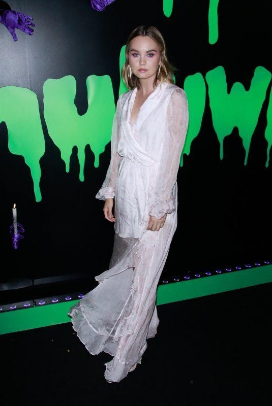LIANA LIBERATO at 2019 Huluween Celebration at New York Comic Con 10/04/2019