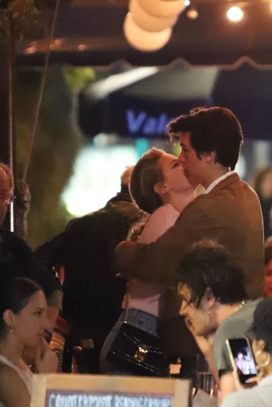 LILI REINHART and Cole Sprouse Out for Dinner in Echo Park 10/12/2019