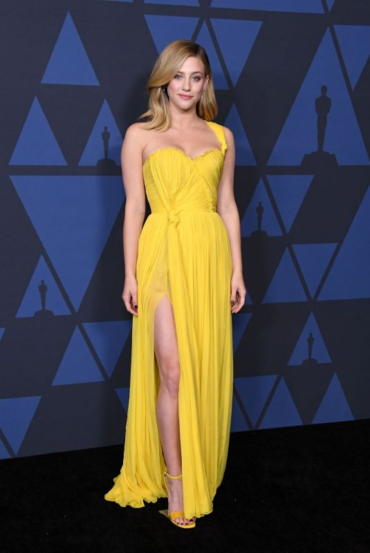 LILI REINHART at AMPAS 11th Annual Governors Awards in Hollywood 10/27/2019