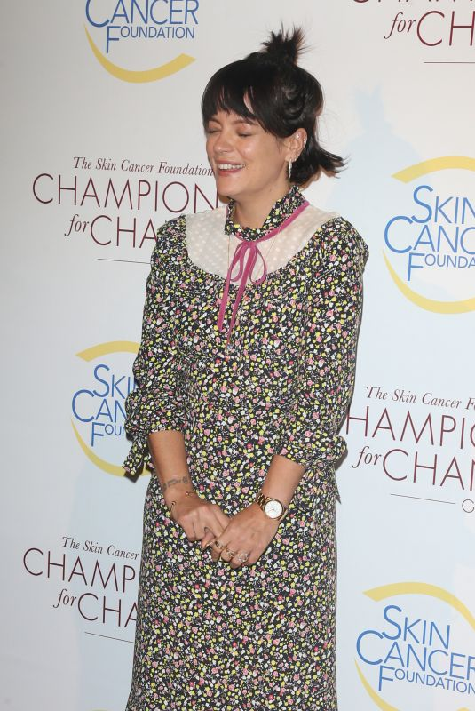 LILY ALLEN at Champions for Change Gala in New York 10/17/2019