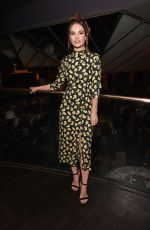 LILY JAMES at Mr Porter Health in Mind Fund Launch in London 10/10/2019