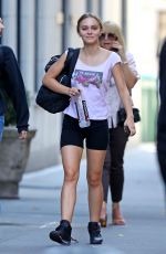 LILY-ROSE DEPP Leaves a Gym in New York 10/11/2019