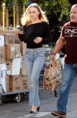 LILY-ROSE DEPP Leaves Grocery Store in Los Angeles 10/15/2019