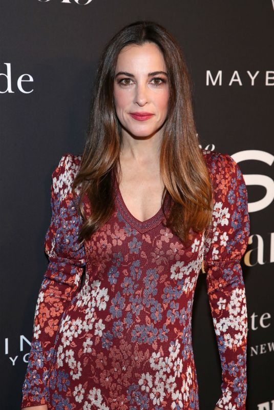 LINDSAY SLOANE at 2019 Instyle Awards in Los Angeles 10/21/2019