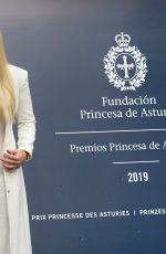 LINDSEY VONN at Eve of the Princess of Asturias Awards Ceremony in Oviedo 10/17/2019