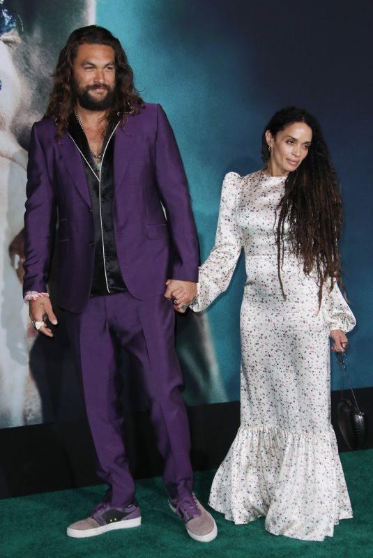 LISA BONET and Jason Momoa at Joker Premiere in Hollywood 09/28/2019