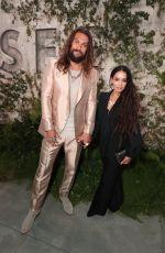 LISA BONET and Jason Momoa at See Premiere in Westwood 10/21/2019