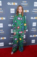 LIV HEWSON at 2019 Glsen Respect Awards in Beverly Hills 10/25/2019
