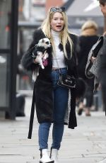 LOTTIE MOSS and Sam Prince Out in Chelsea in London 10/10/2019
