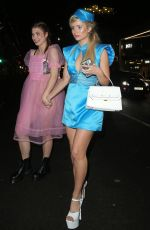 LOTTIE MOSS at Halloween Party at M Restaurant in London 10/25/2019