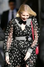 LUCY BOYNTON Arrives at Jimmy Kimmel Live in Los Angeles 09/30/2019