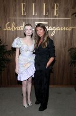 LUCY BOYNTON at Elle & Ferragamo Hollywood Rising Celebration in West Hollywood 10/11/2019