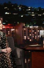 LUCY BOYNTON at Jimmy Kimmel Live  09/30/2019