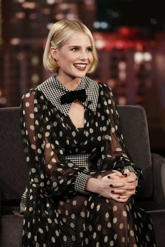 LUCY BOYNTON at Jimmy Kimmel Live  09/30/2019