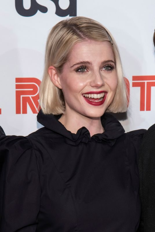 LUCY BOYNTON at Mr. Robot, Final Season Premiere in New York 10/01/2019