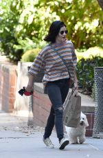 LUCY HALE Out Shopping in New York 10/08/2019