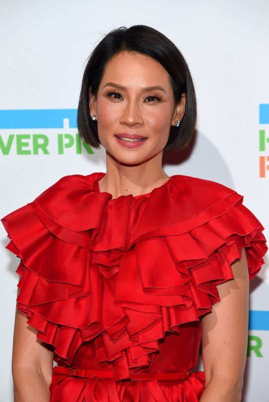 LUCY LIU at Hudson River Park Annual Gala in New York 10/17/2019