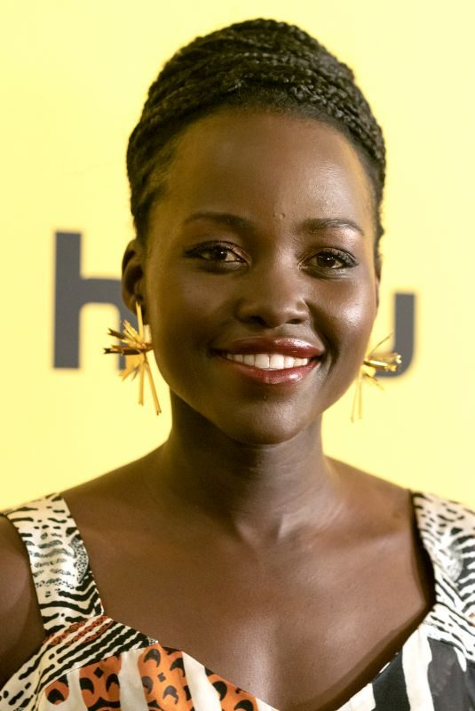 LUPITA NYONG'O at Little Monsters Premiere in New York 10/08/2019