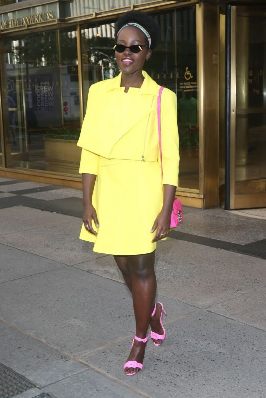 LUPITA NYONG'O Out and About in New York 10/15/2019