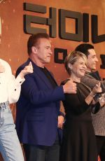 MACKENZIE DAVIS and NATALIA REYES at Terminator: Dark Fate Publicity Event in Seoul 10/21/2019