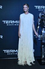 MACKENZIE DAVIS at Terminator: Dark Fate Premiere in Mexico City 10/13/2019
