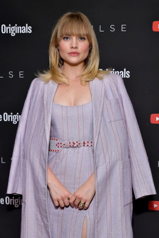 MADDIE HASSON at Impulse, Season 2 Special Screening in West Hollywood 01/15/2019