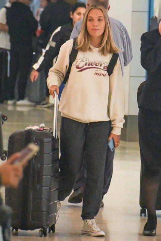 MADDIE ZIEGLER at Airport in Sydney 10/07/2019