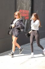MADISON BEER and ISABELLA JONES Out Sopping in Beverly Hills 10/17/2019