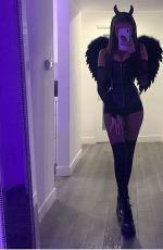 MADISON BEER Getting Ready for Halloween - Instagram Phosots 10/26/2019