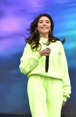 MADISON BEER Prforms at Austin City Limits Music Festival 10/11/2019