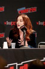 MADISON DAVENPORT at Reprisal Panel at New York Comic Con 10/05/2019