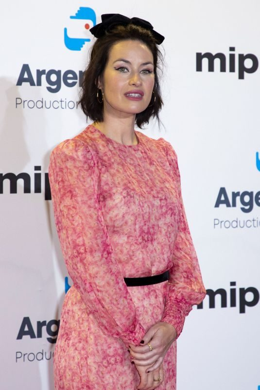 MAIMIE MCCOY at Mipcom 2019 Opening Ceremony in Cannes 01/14/2019